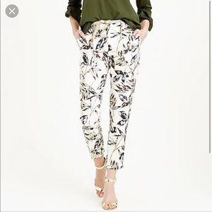 J.Crew linen pants size 2